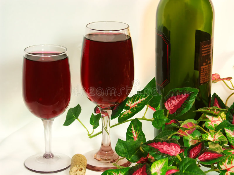 Download Red Wine For Two Stock Images - Image: 437344