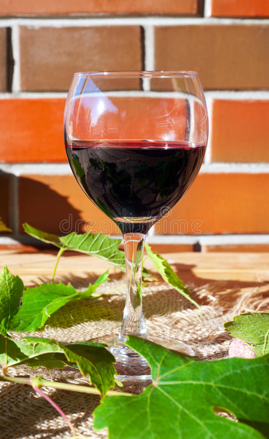 Red Wine In Wineglass Royalty Free Stock Image