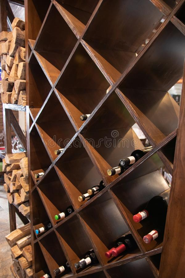 Red wines stock images