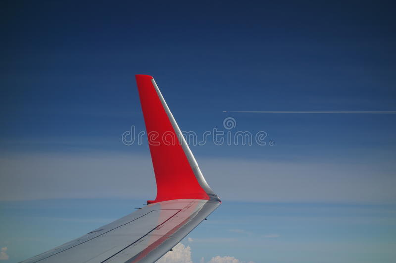 Download Red Winglet 02 Royalty Free Stock Images - Image: 37663229
