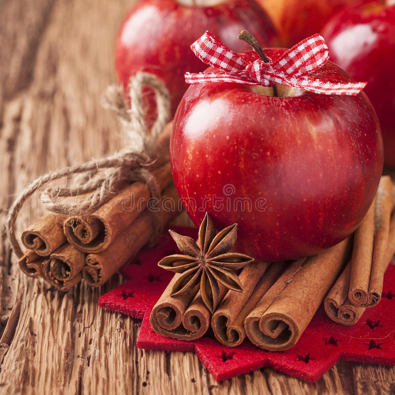 Download Red winter apples stock image. Image of group, anise - 27963159