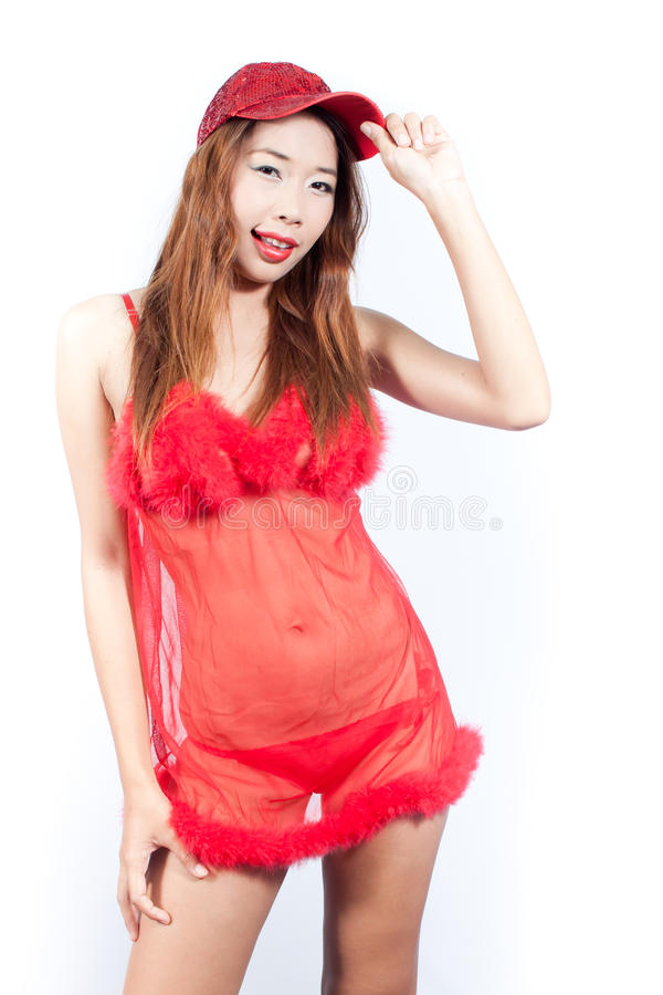 Download Red Woman stock photo. Image of love, isolated, fashion - 23057982