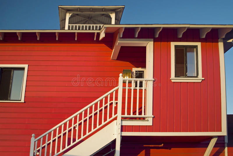 Download Red Wood stock image. Image of building, background, stairs - 10697377