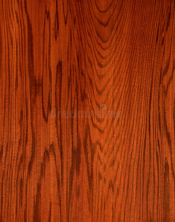 Red wood. Texture of red-brown wood