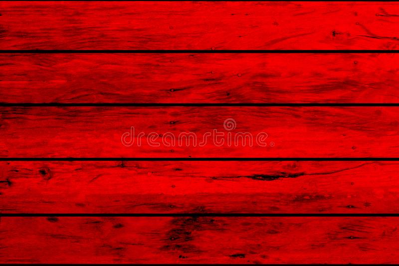 Red wood background,plank or wall texture royalty free stock images