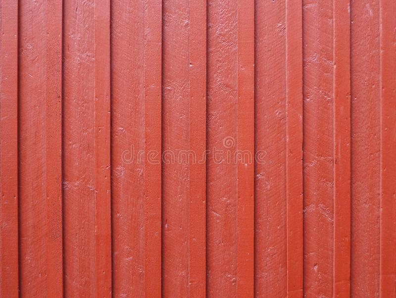 Red wood fence background royalty free stock photos