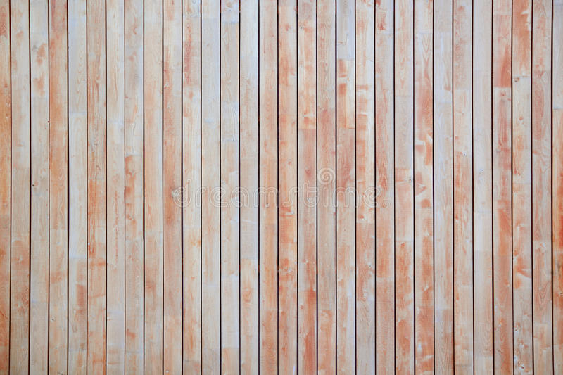 Red wooden background. Textured rustic planks stock photography