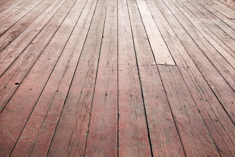 Download Red Wooden Floor Perspective. Background Texture Stock Photo - Image: 40256301