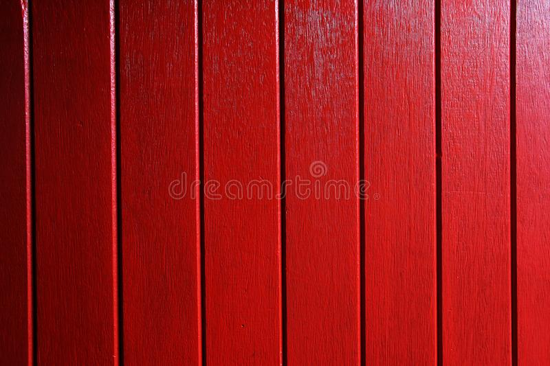 Red Wooden Surface royalty free stock image