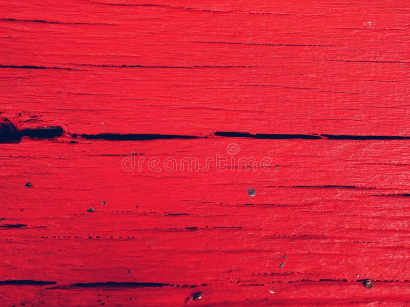 Red Wooden Surface royalty free stock photos