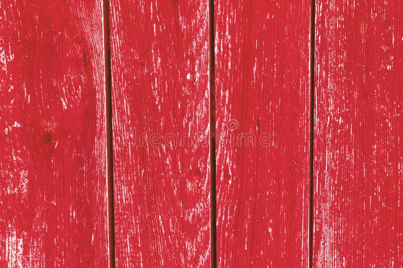 Red wood background stock photo