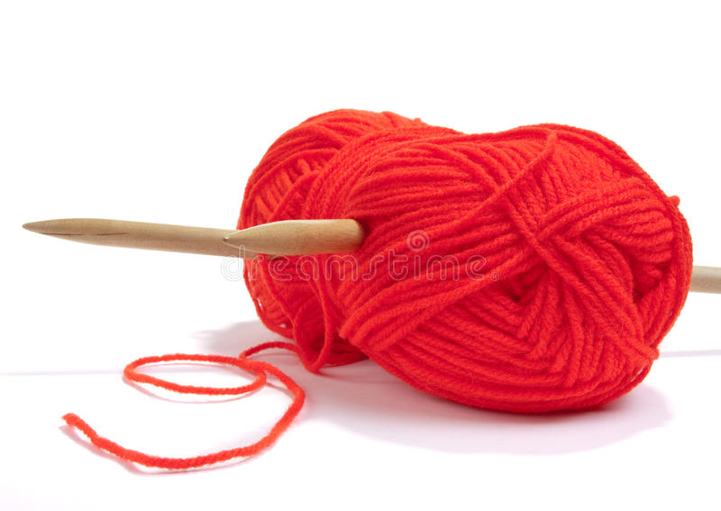 Download Red Wool stock image. Image of thread, isolated, multicolored - 11414041