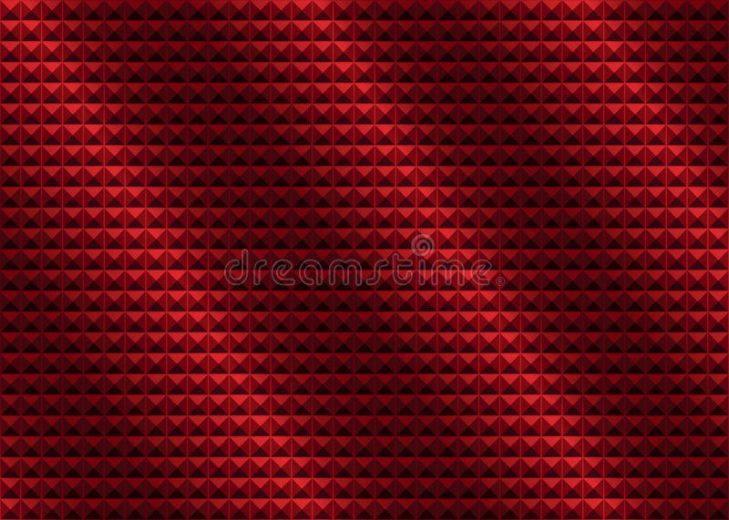 Red wrinkled abstract background. VECTOR, EPS10 stock illustration