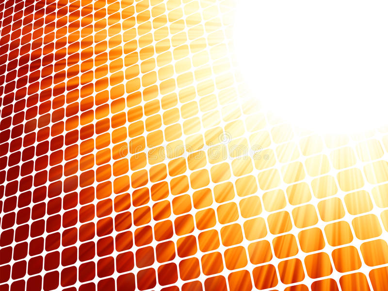 Download Red Yelloe Rays Light 3D Mosaic. EPS 8 Stock Photos - Image: 25207803