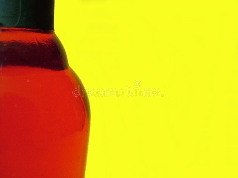 Red on Yellow royalty free stock image