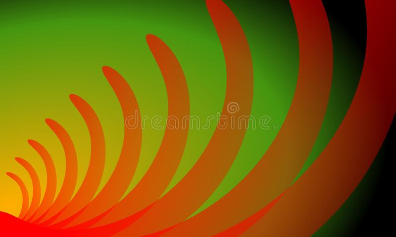 Red and yellow Abstract background template vector illustration . stock illustration