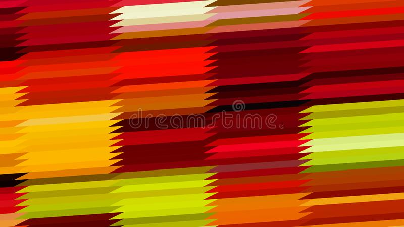 Red Yellow and Green Horizontal Lines and Stripes Background Graphic vector illustration