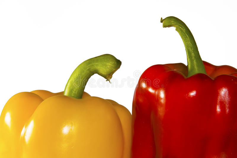 Download Red and yellow peppers stock photo. Image of natural - 14217882