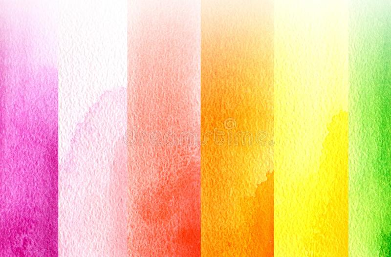 Red, Yellow, Pink, Orange royalty free stock photography