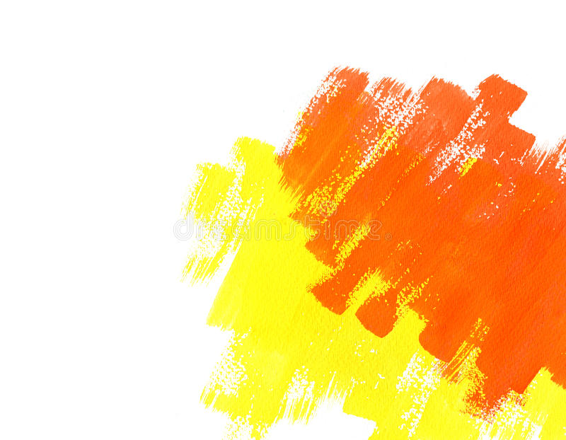 Download Red And Yellow Water Color Paint Texture Stock Image - Image: 23549937