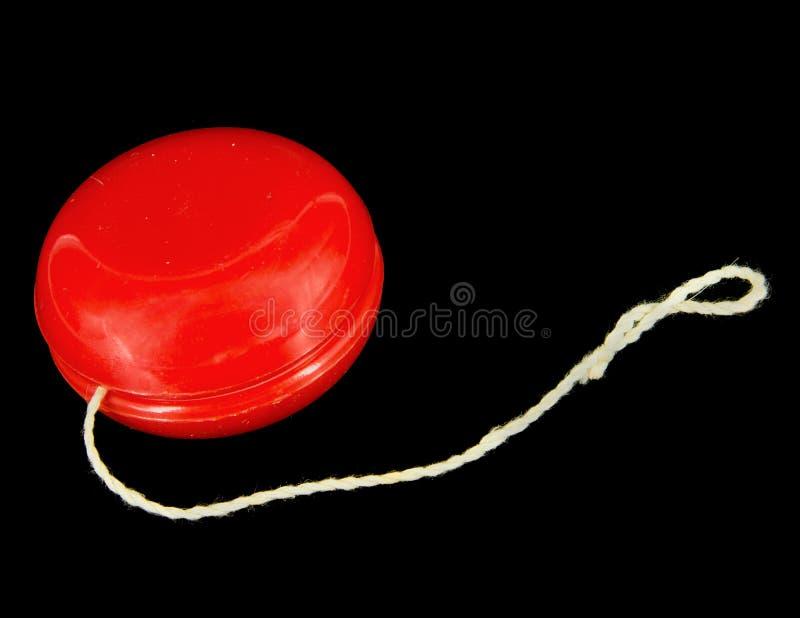 Red Yo-yo stockfoto