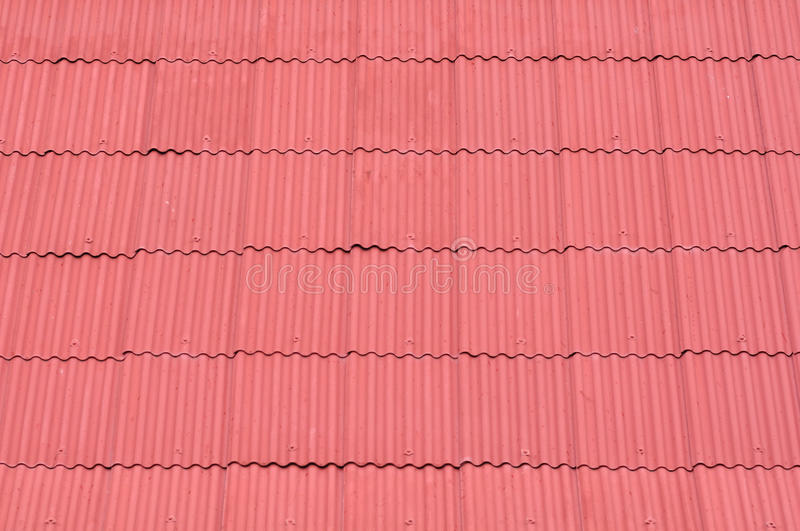 Red Zinc Roof Stock Photo Image Of Metal Roof Roofing