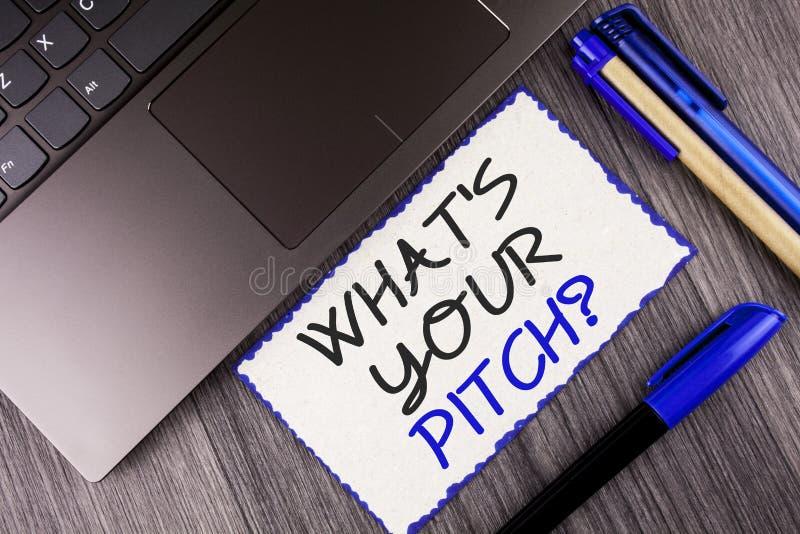 Redacte el texto de la escritura cuál es su pregunta de la echada Concepto del negocio para la actual oferta que introduce proyec imágenes de archivo libres de regalías