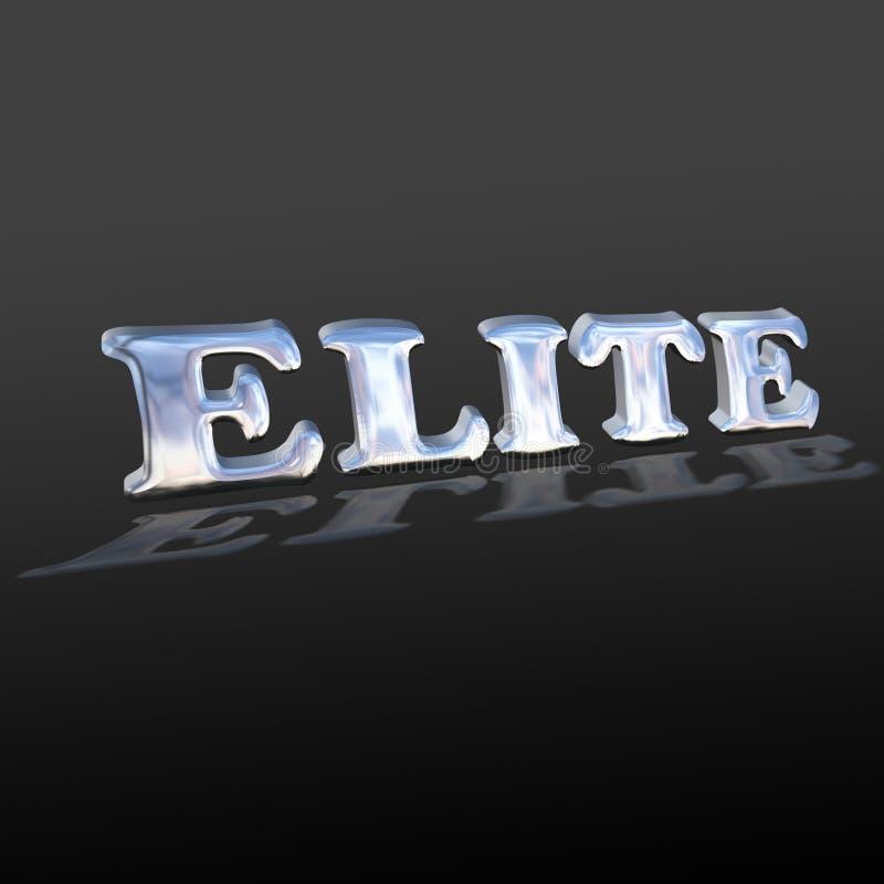 Redacte la élite ilustración del vector