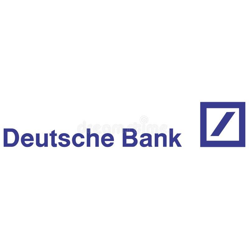 Redactie - Deutsche Bank-embleem stock illustratie