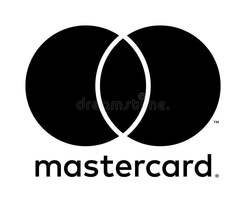 Redactie - Mastercard-embleempictogram vector illustratie