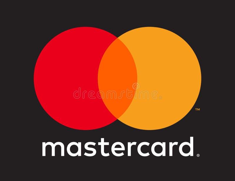 Redactie - Mastercard-embleempictogram royalty-vrije illustratie