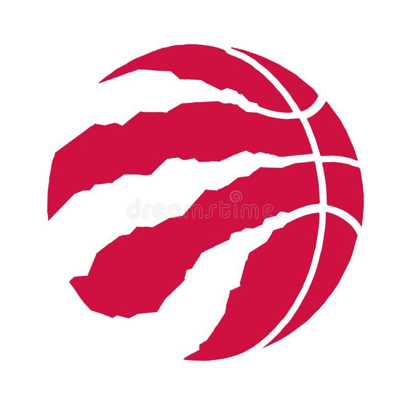 Redactie - Toronto Raptors NBA stock illustratie
