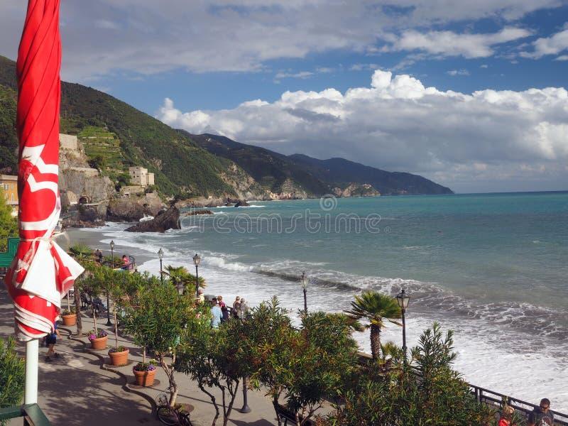 Redakcyjny Monterosso Cinque Terre Włochy zdjęcie royalty free