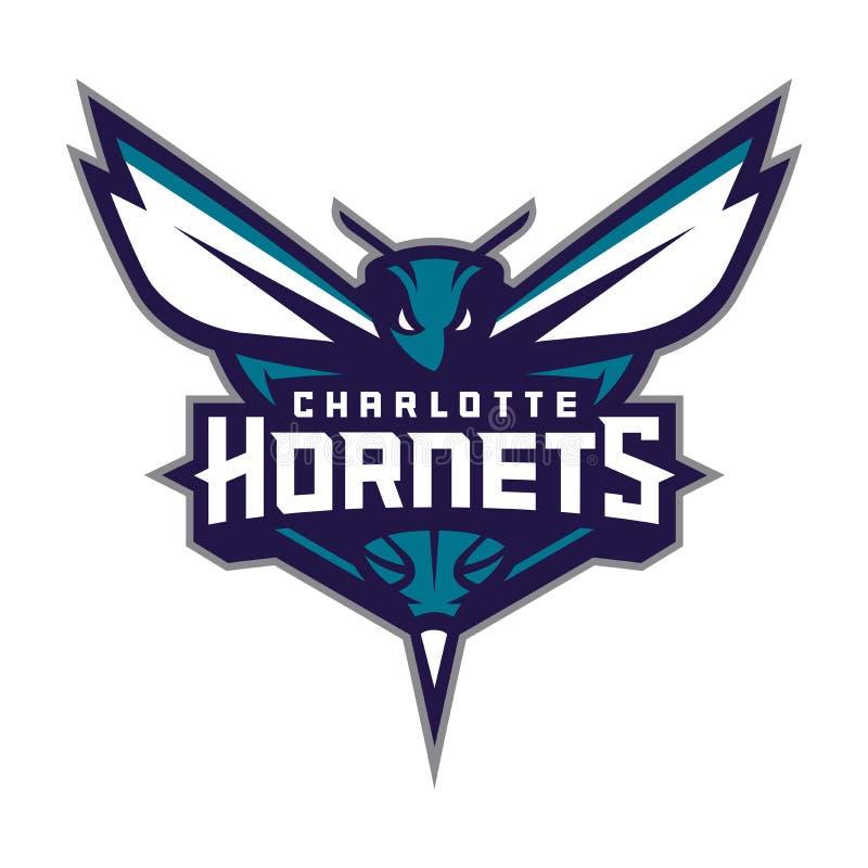 Redaktörs- - Charlotte Hornets royaltyfri illustrationer
