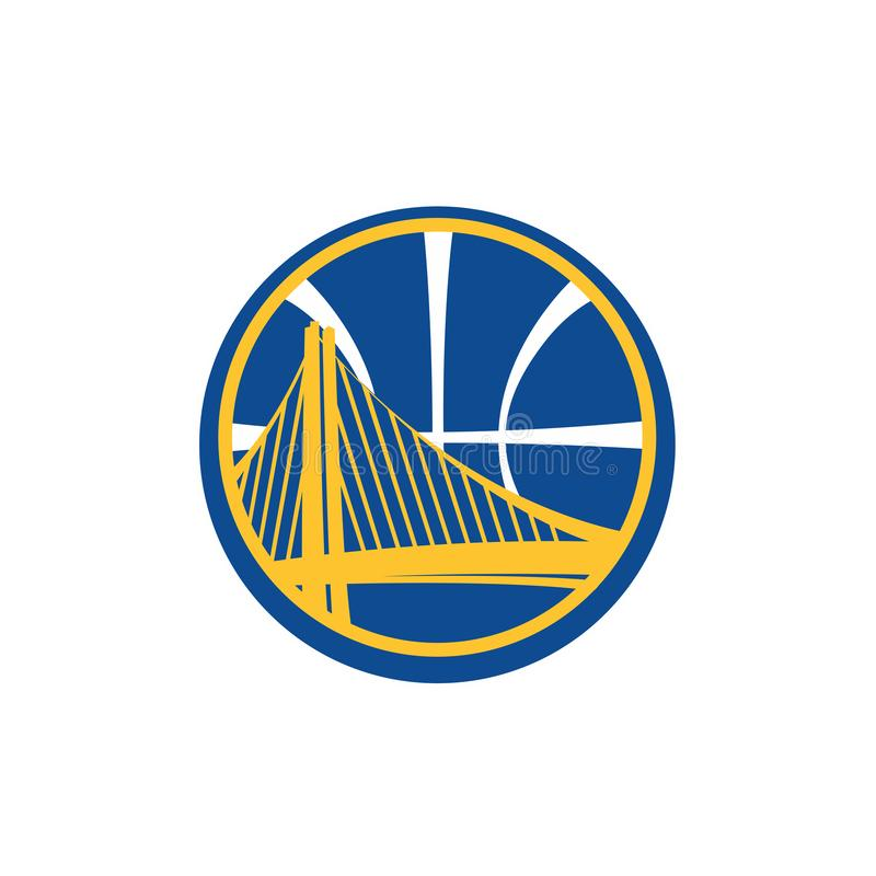Redaktionell - Golden State Warriors NBA lizenzfreie abbildung