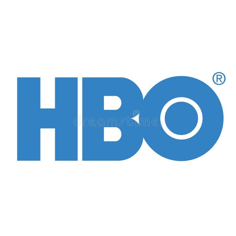Redaktionell - HBO-Hauptkassen-Logovektor vektor abbildung