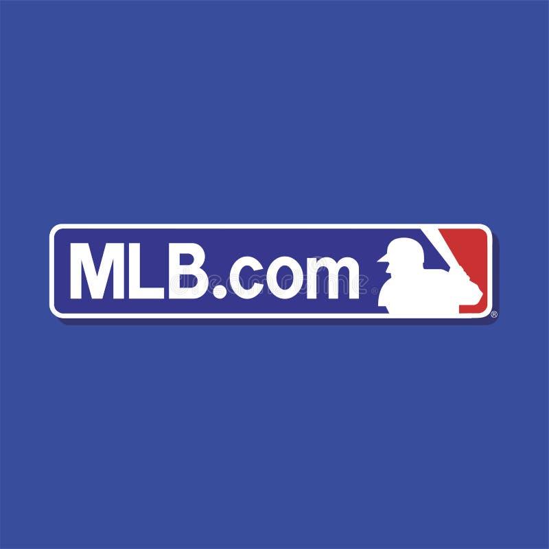 Redaktionell - MLB com lizenzfreie stockbilder