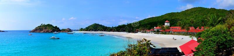 Redang-Insel-Panorama stockbilder