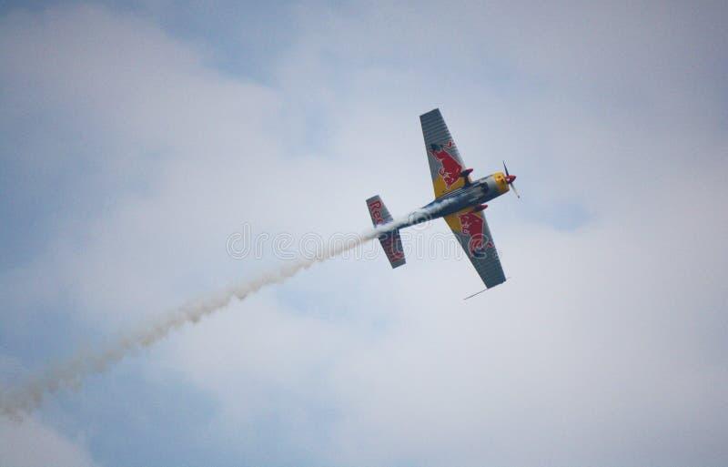 Redbull空气种族 免版税图库摄影