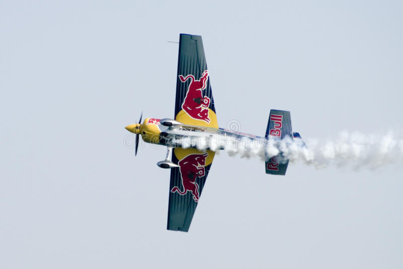 Redbull Air race stock photography