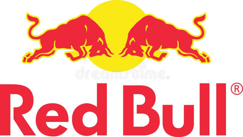 Redbull company logo. Red Bull is an energy drink sold by Red Bull GmbH, an Austrian company created in 1987. Red Bull has the highest market share of any energy