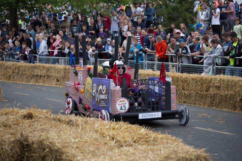 Redbull Soapbox Race 2015 royalty free stock images