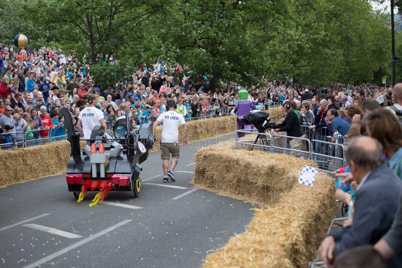 Redbull Soapbox Race 2015 royalty free stock photography