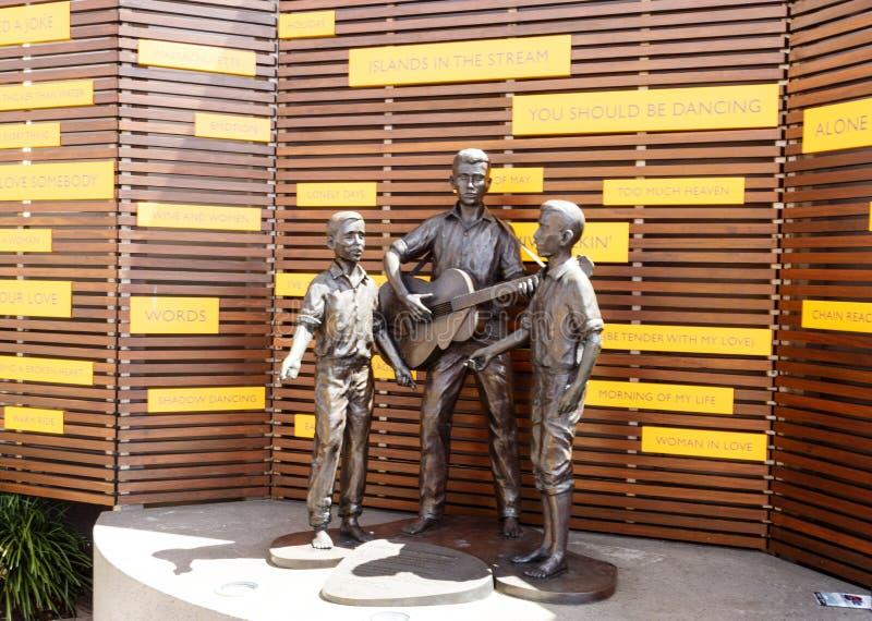 """Redcliffe †""""den Bee Gees minnesmärken royaltyfri fotografi"""