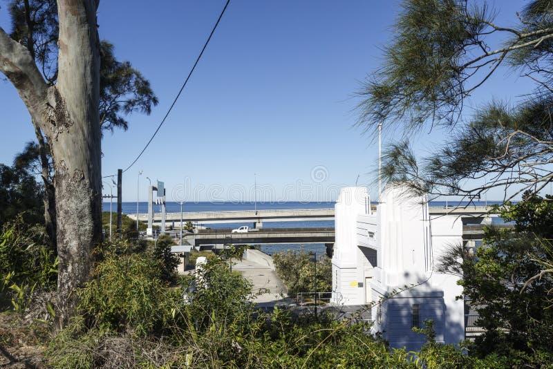 Redcliffe-Halbinsel - drei Brücken stockbilder