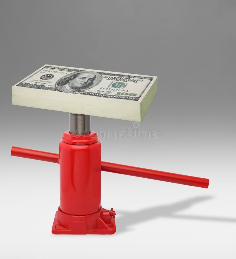Reddito di aumento immagine stock libera da diritti