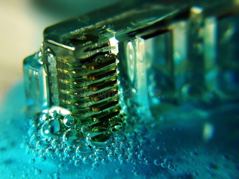 Rede ácida foto de stock