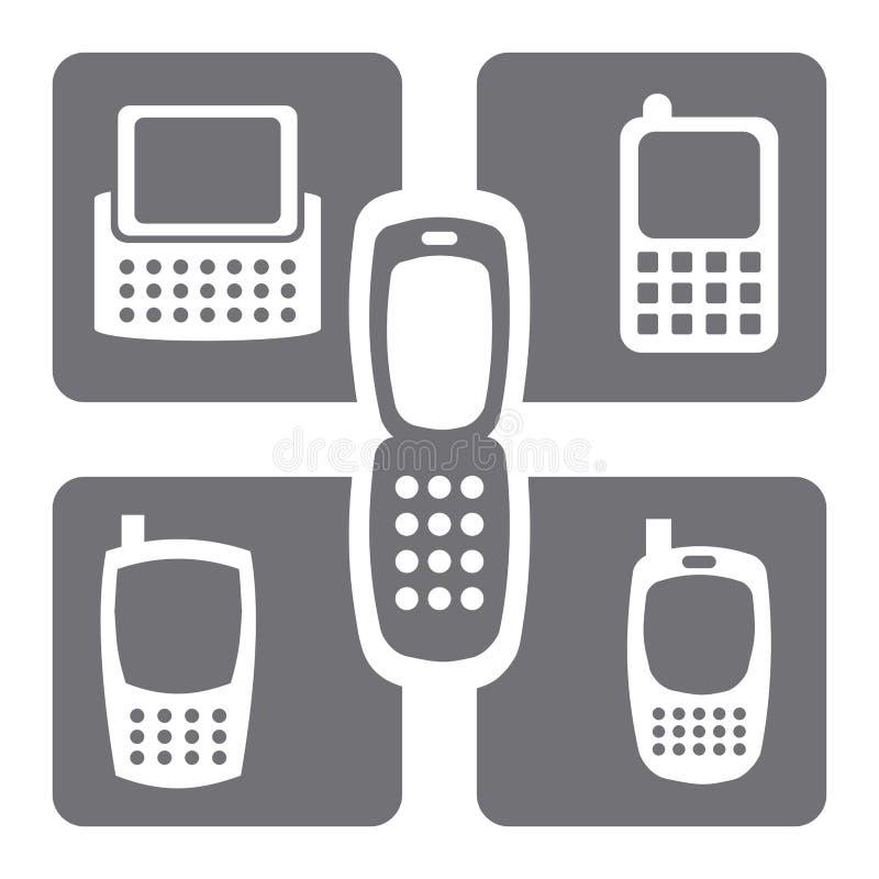 Rede celular ilustração stock