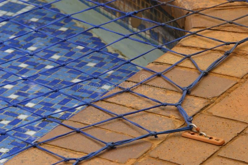 Rede da piscina imagem de stock