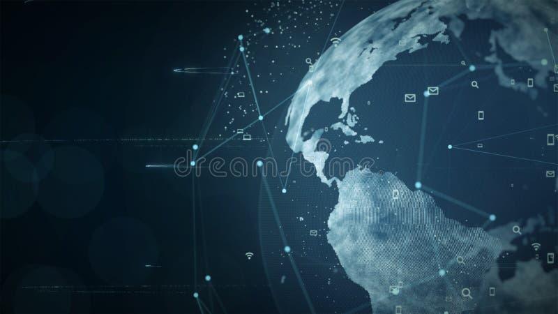 Rede da tecnologia ilustração do vetor